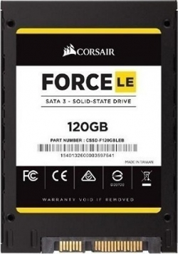 SSD 120 GB Corsair Force LE 2.5 6 GB/s 550 MB/s Read / 500 MB/s Write