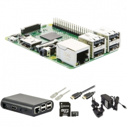 Raspberry Pi 3 starter kit με WiFi και λογισμικό NOOBS